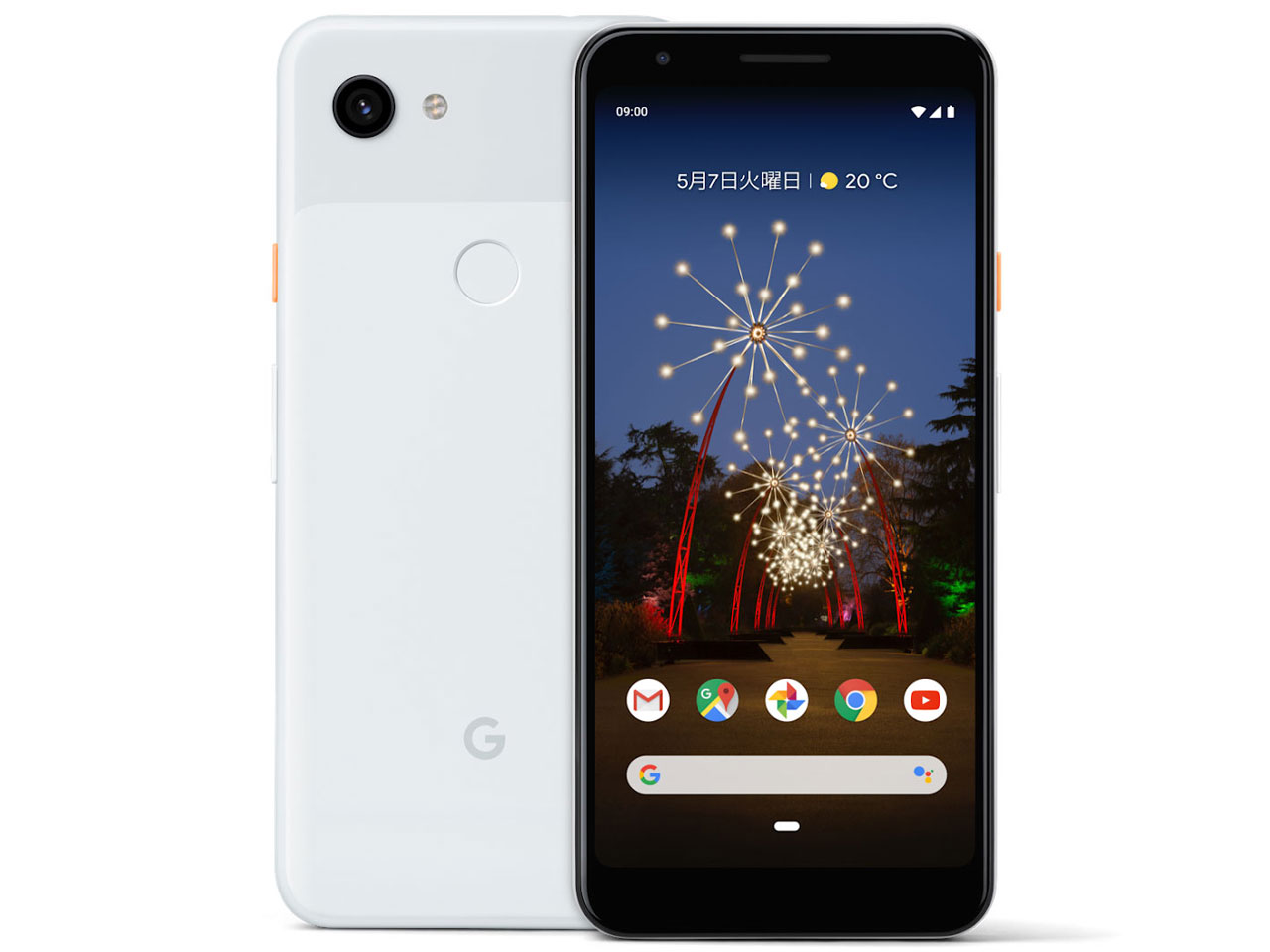 Google Pixel 3a docomo [Clearly White] の製品画像