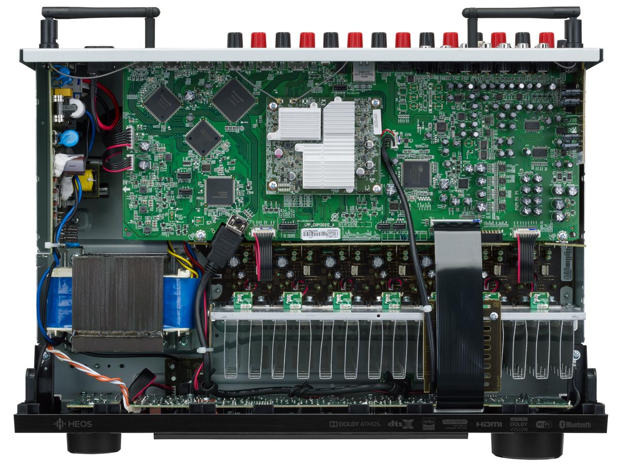 『本体 内部』 AVR-X1600H の製品画像