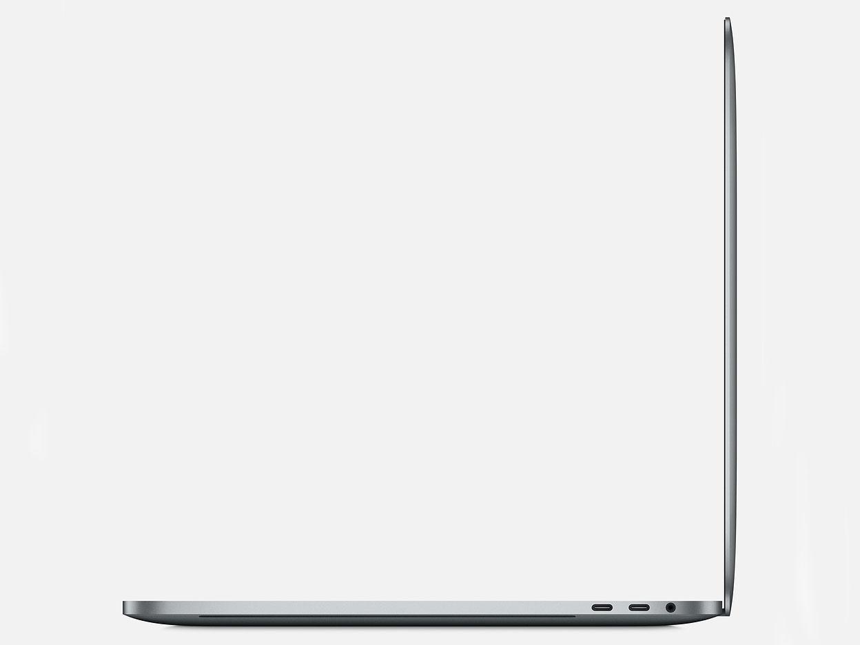 『本体 右側面』 MacBook Pro Retinaディスプレイ 2300/15.4 MV912J/A [スペースグレイ] の製品画像
