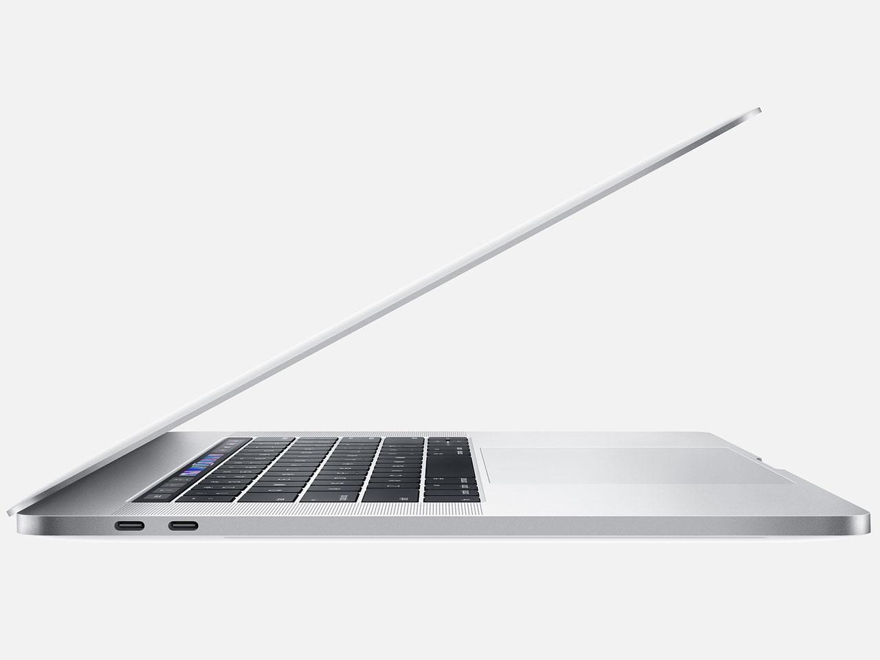 『本体 左側面2』 MacBook Pro Retinaディスプレイ 2300/15.4 MV932J/A [シルバー] の製品画像