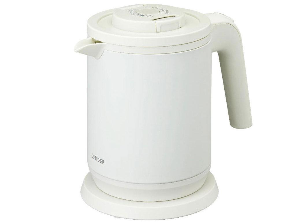蒸気レス電気ケトル わく子 PCK-A080-WM [マットホワイト] の製品画像