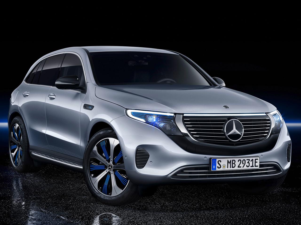 メルセデス・ベンツ EQC 2019年モデル 新車画像