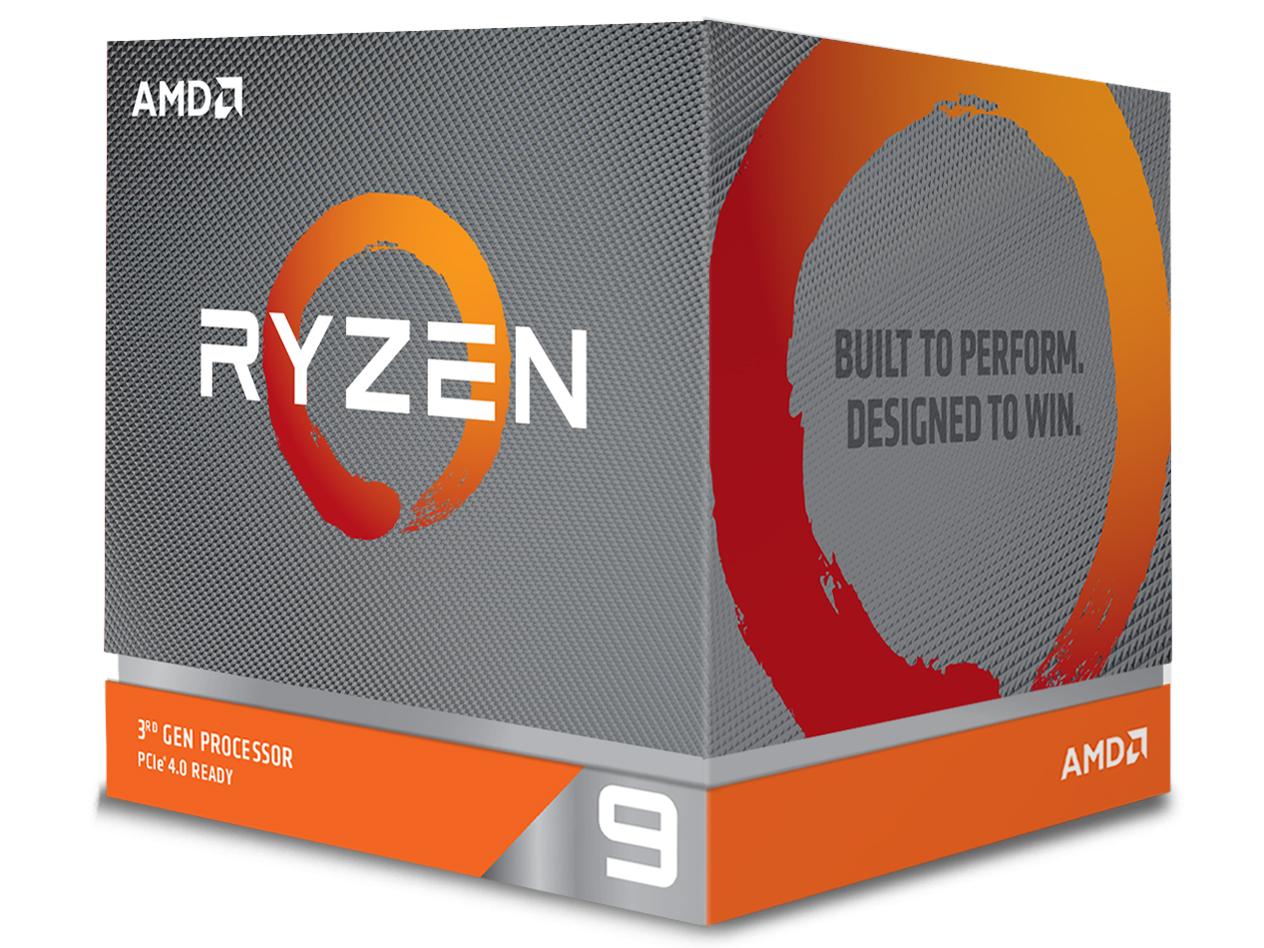 Ryzen 9 3900X BOX の製品画像