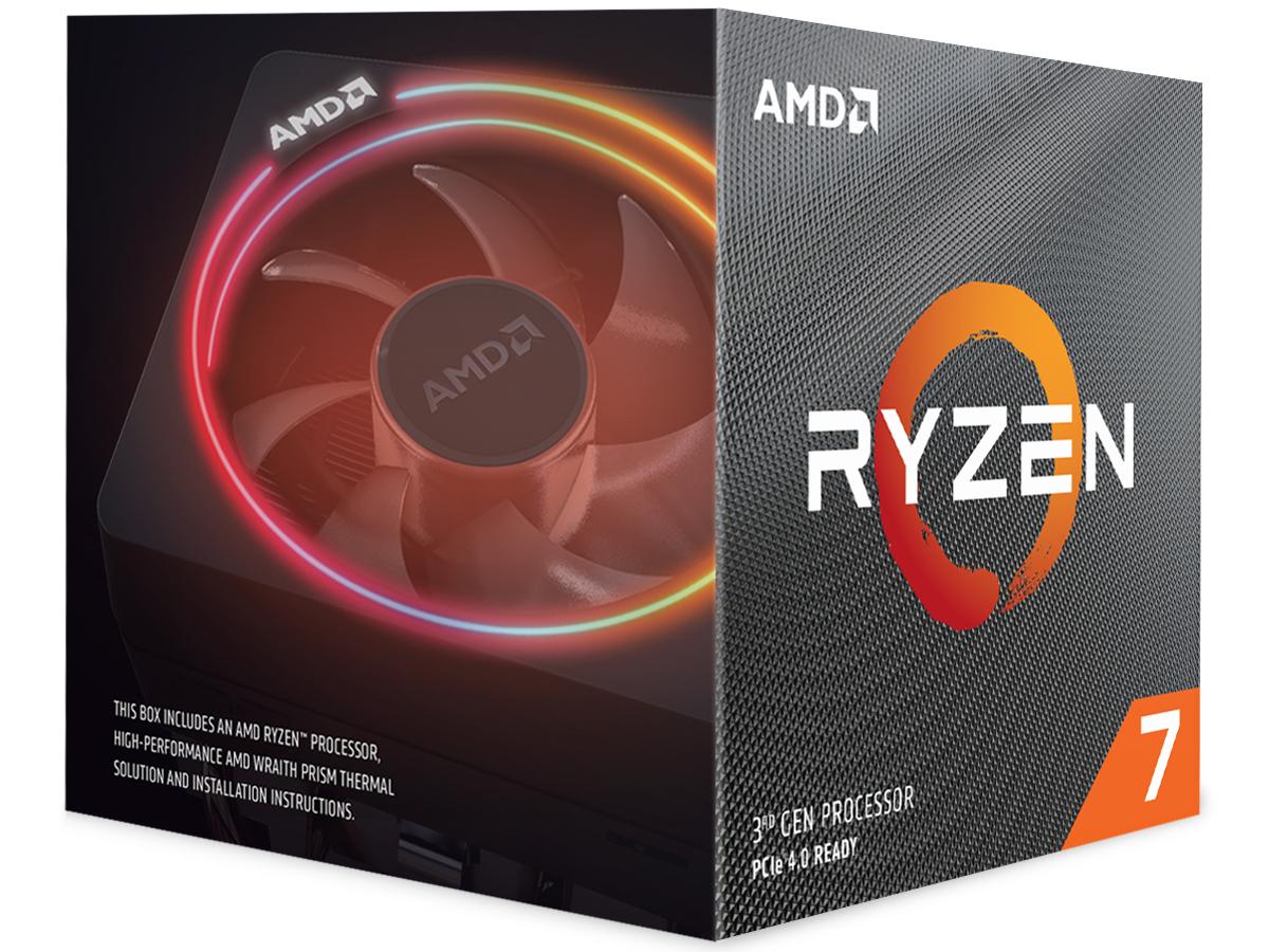 『パッケージ1』 Ryzen 7 3800X BOX の製品画像