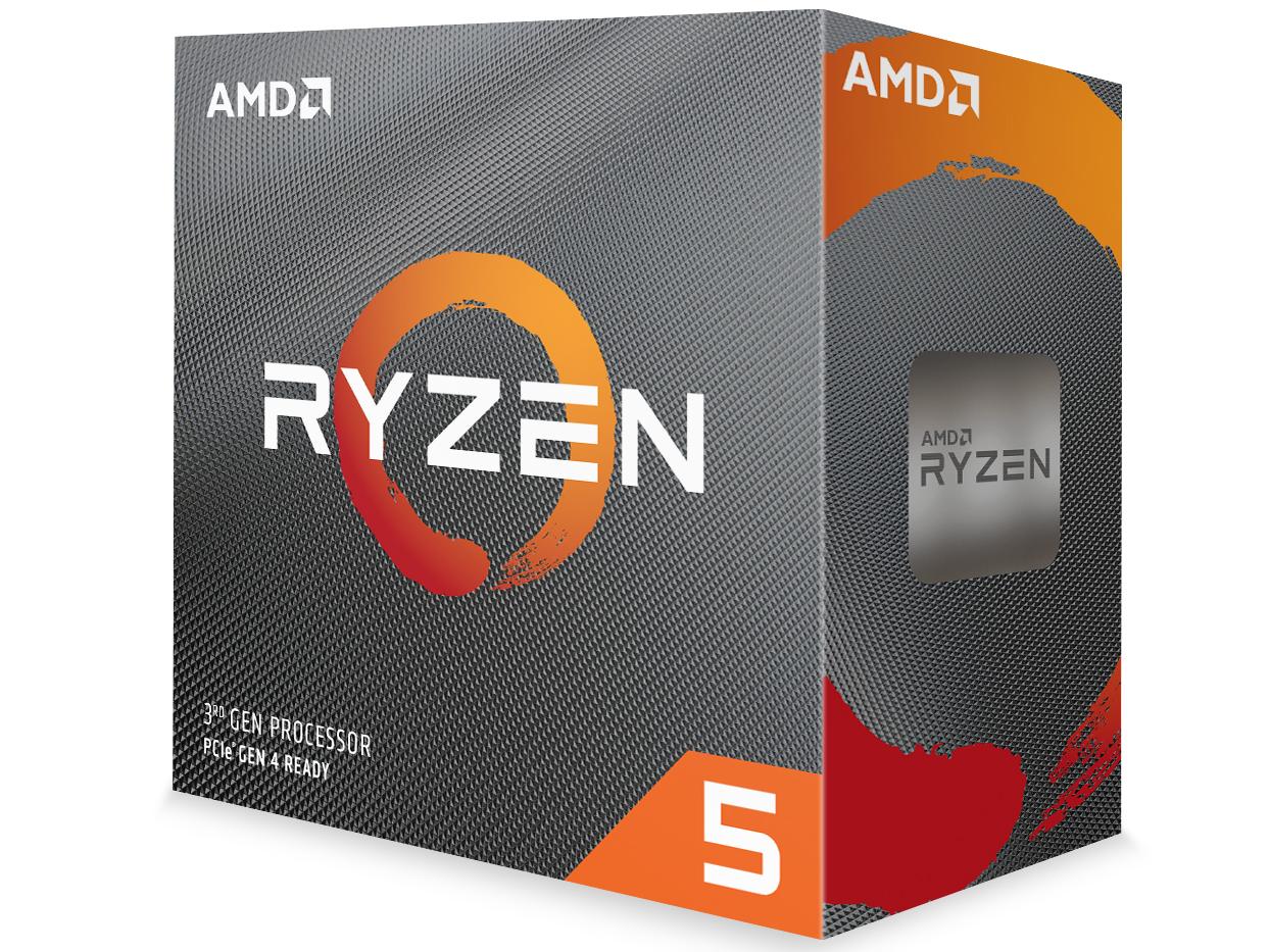 Ryzen 5 3600 BOX の製品画像