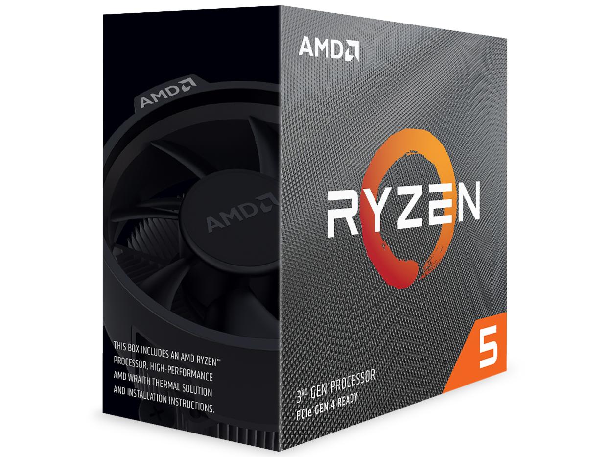 『パッケージ1』 Ryzen 5 3600 BOX の製品画像