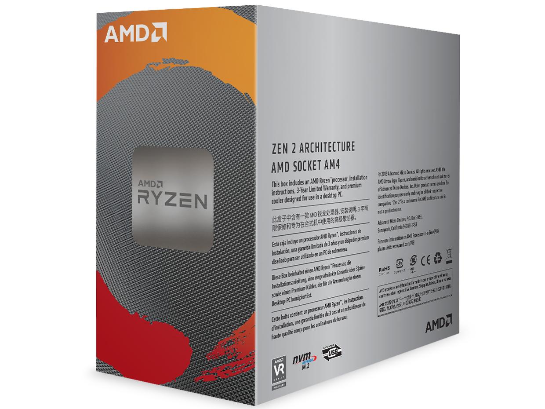 『パッケージ2』 Ryzen 5 3600 BOX の製品画像