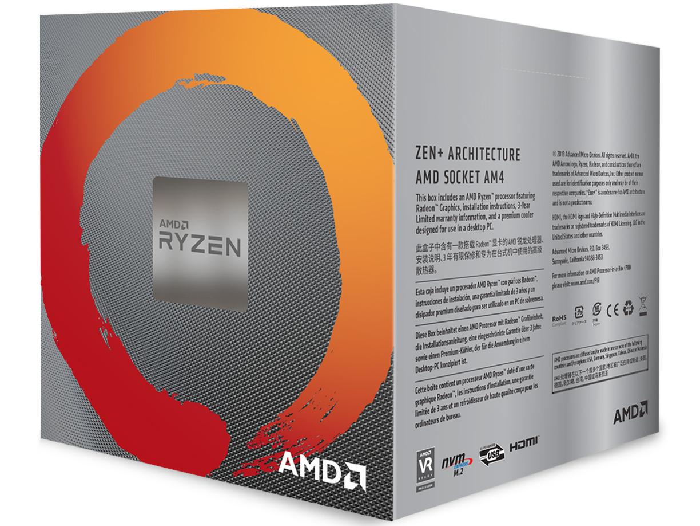 『パッケージ2』 Ryzen 5 3400G BOX の製品画像