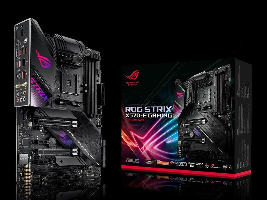 『本体 パッケージ』 ROG STRIX X570-E GAMING の製品画像