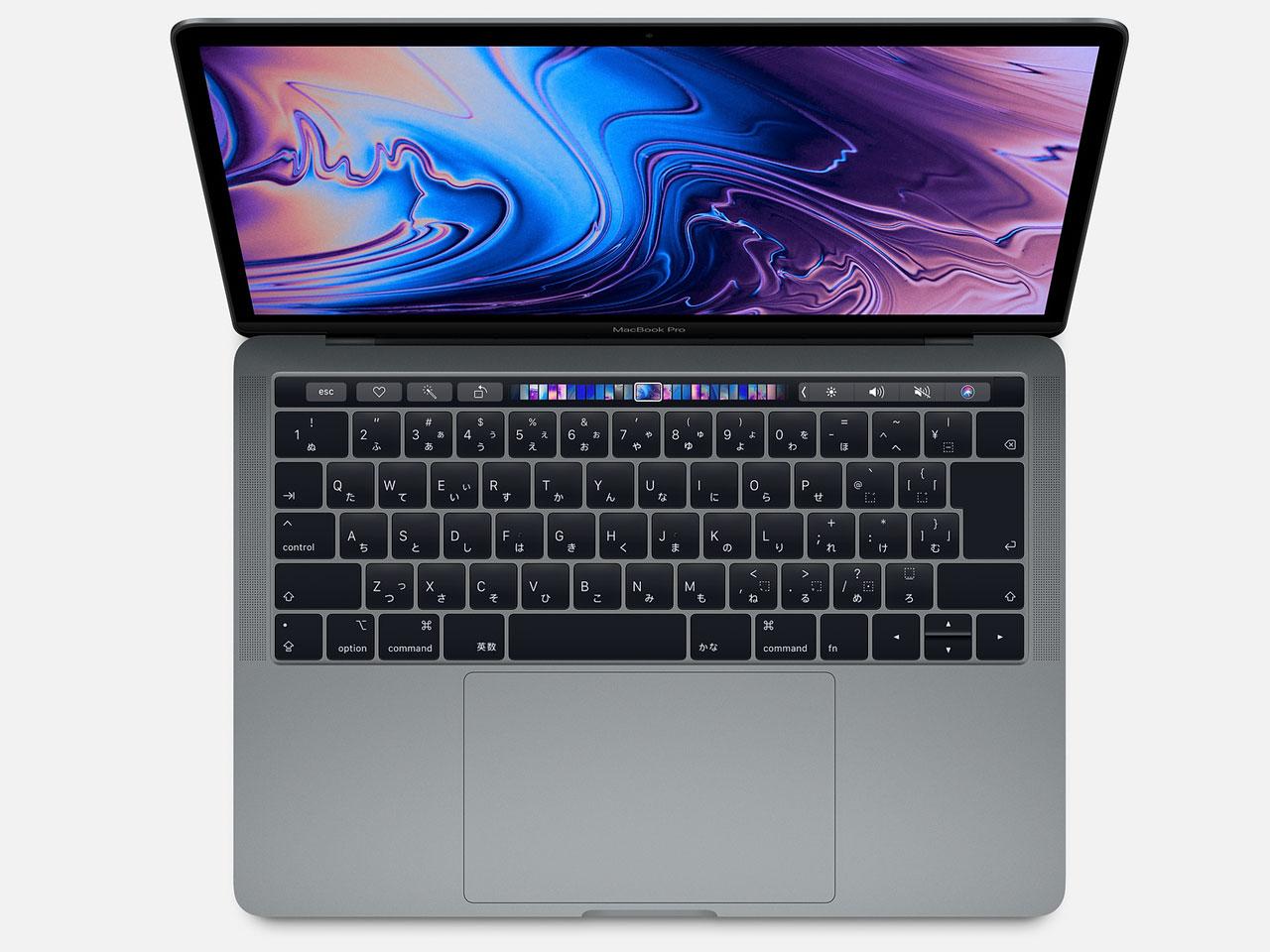 MacBook Pro Retinaディスプレイ 1400/13.3 MUHP2J/A [スペースグレイ] の製品画像