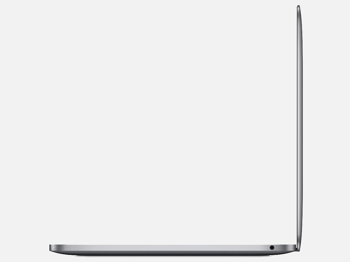 『本体 右側面』 MacBook Pro Retinaディスプレイ 1400/13.3 MUHP2J/A [スペースグレイ] の製品画像
