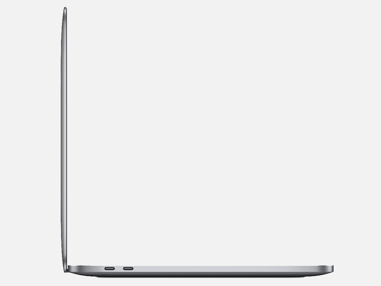 『本体 左側面1』 MacBook Pro Retinaディスプレイ 1400/13.3 MUHP2J/A [スペースグレイ] の製品画像
