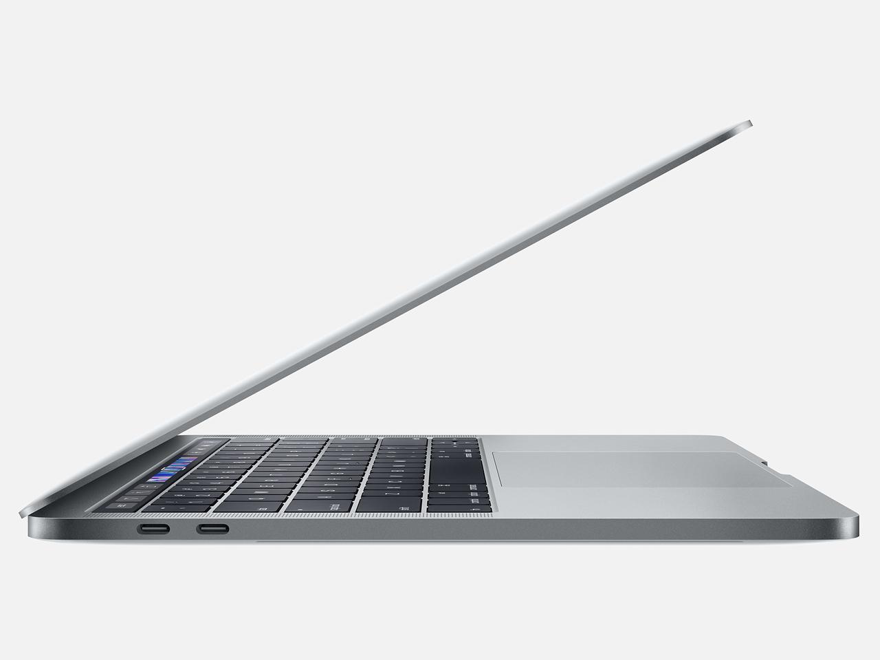 『本体 左側面2』 MacBook Pro Retinaディスプレイ 1400/13.3 MUHP2J/A [スペースグレイ] の製品画像