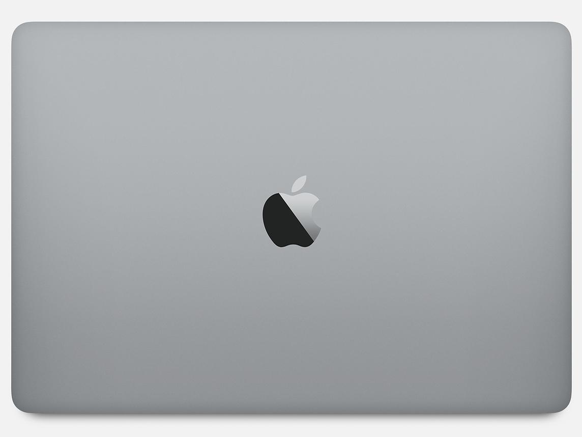『本体 背面』 MacBook Pro Retinaディスプレイ 1400/13.3 MUHP2J/A [スペースグレイ] の製品画像