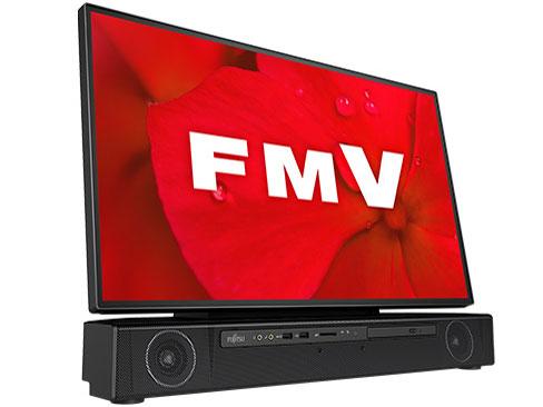 『本体 斜め』 FMV ESPRIMO FHシリーズ WF2/D2 KC_WF2D2_A010 TV機能・メモリ8GB・SSD 256GB+HDD 1TB・Blu-ray・Office搭載モデル の製品画像