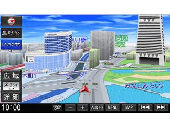 『ルート画面5』 ストラーダ F1X PREMIUM10 CN-F1X10BD の製品画像
