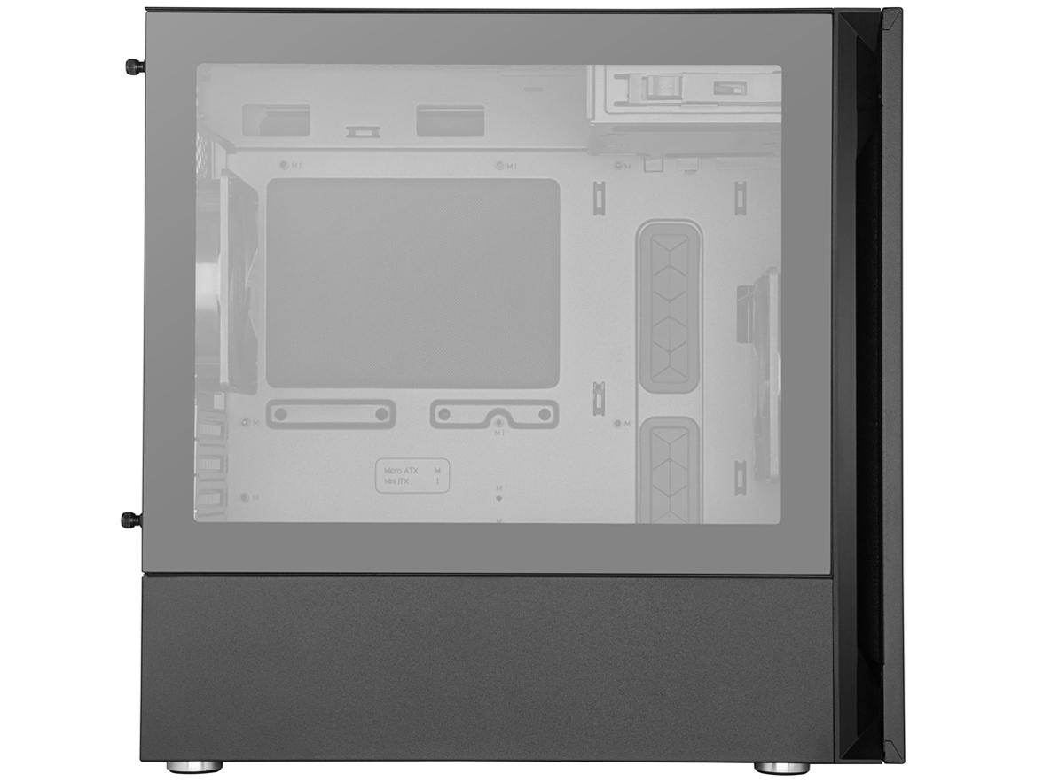 『本体 左側面』 Silencio S400 TG MCS-S400-KG5N-S00 の製品画像