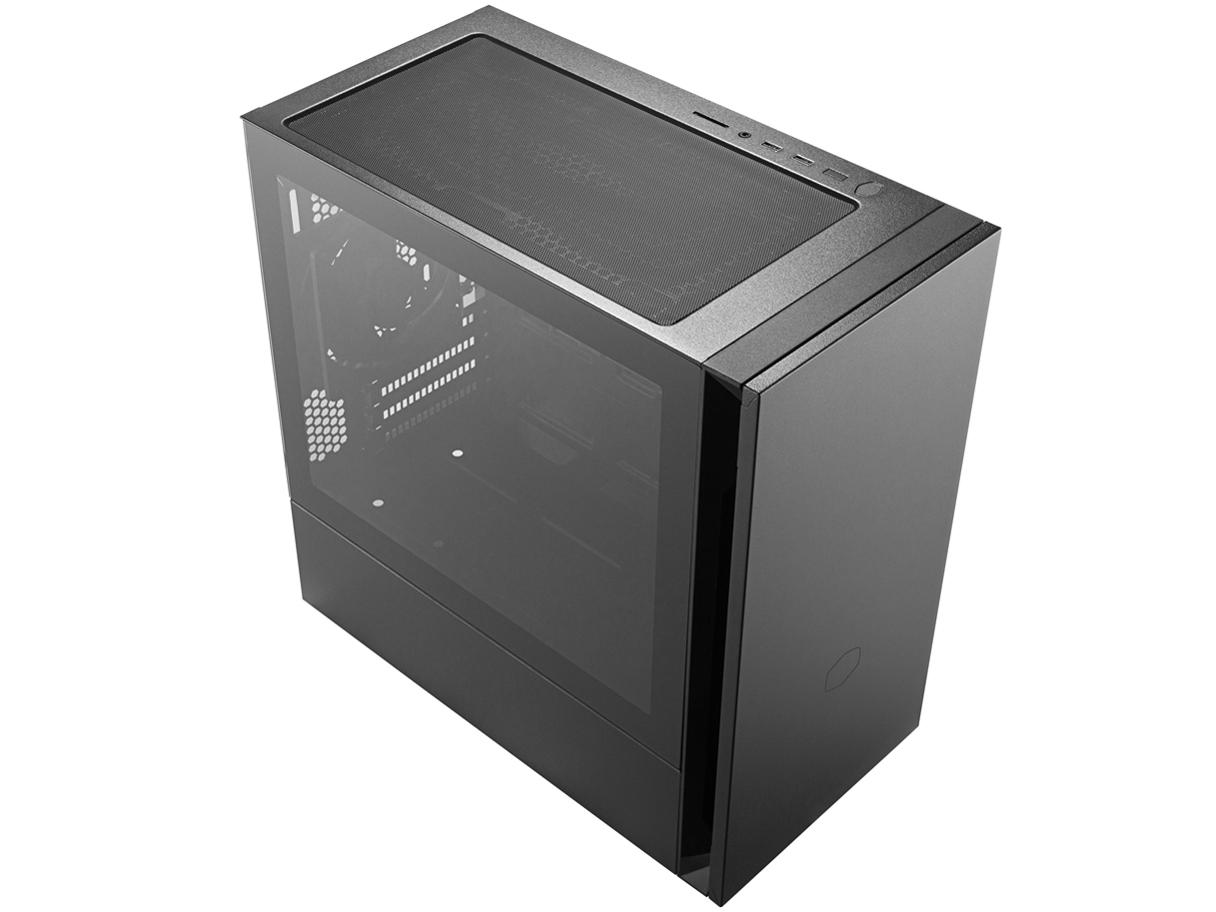 『本体 斜め2』 Silencio S400 TG MCS-S400-KG5N-S00 の製品画像