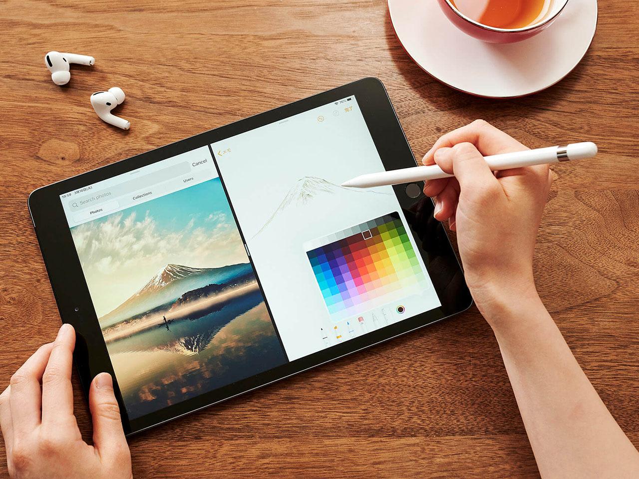 『本体 参考2』 iPad 10.2インチ 第7世代 Wi-Fi 32GB 2019年秋モデル MW742J/A [スペースグレイ] の製品画像