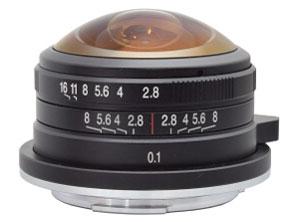 LAOWA 4mm F2.8 Fisheye MFT の製品画像