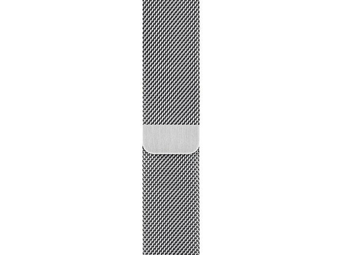 『本体 部分アップ』 Apple Watch Series 5 GPS+Cellularモデル 44mm MWWG2J/A [ミラネーゼループ] の製品画像