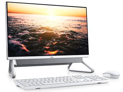 Inspiron 24 5000 フレームレスデスクトップ プレミアム Core i5 10210U・8GBメモリ・256GB SSD+1TB HDD・MX110搭載・Office Personal 2019付・Pafiliaスタンドモデル