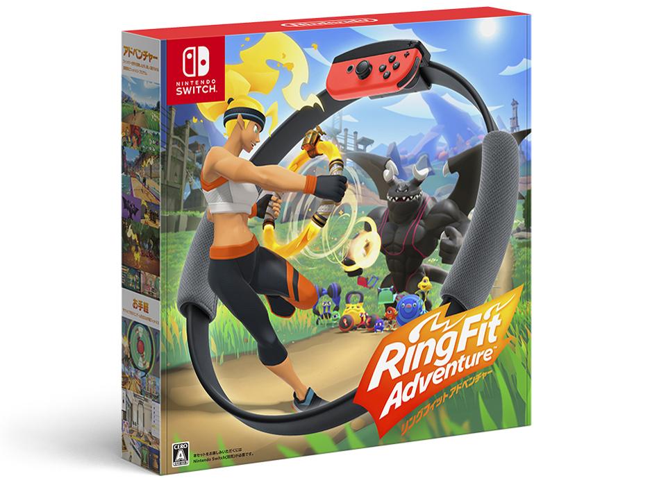 リングフィット アドベンチャー [Nintendo Switch] の製品画像