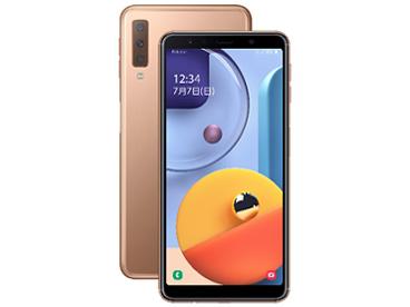 Galaxy A7 SIMフリー [ゴールド] の製品画像