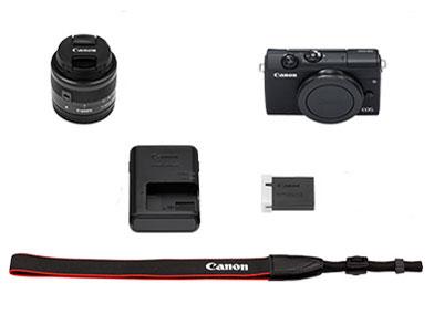 『セット内容』 EOS M200 EF-M15-45 IS STM レンズキット [ブラック] の製品画像