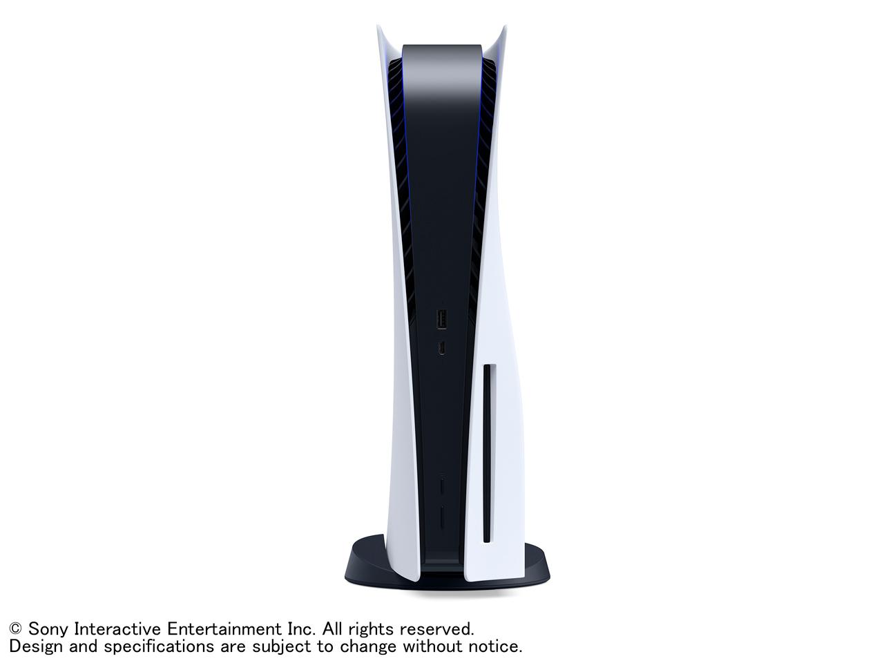 『本体 正面』 プレイステーション5 の製品画像