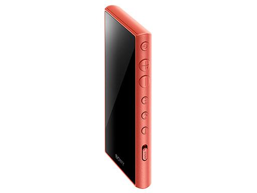 『本体 斜め』 NW-A105 (D) [16GB オレンジ] の製品画像