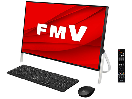 FMV ESPRIMO FHシリーズ WF1/D3 KC_WF1D3_A051 Core i7・TV機能・メモリ16GB・SSD 512GB+HDD 1TB・Blu-ray・Office搭載モデル [ブラック]