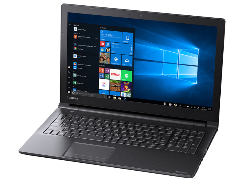 dynabook EZ35/LBSD W6EZ35CLBE 15.6型HD Core i5 8250U 256GB_SSD Officeなし の製品画像