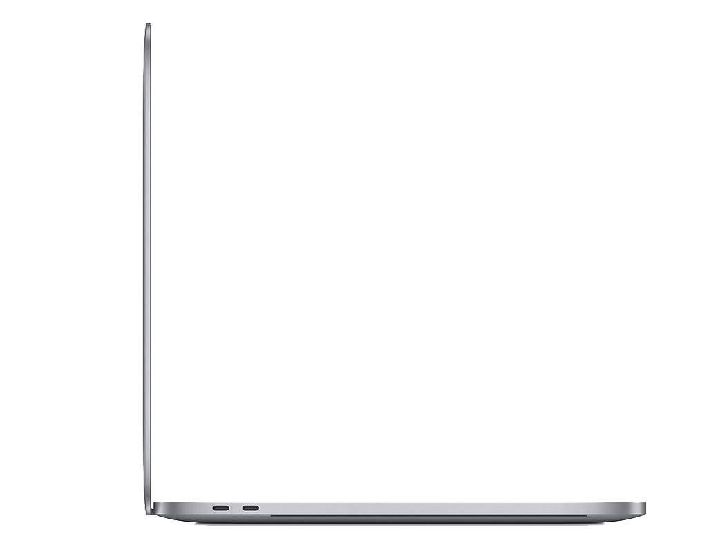 『本体 左側面』 MacBook Pro Retinaディスプレイ 2600/16 MVVJ2J/A [スペースグレイ] の製品画像