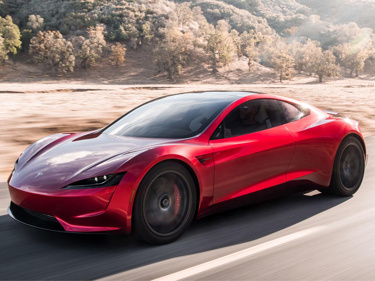 テスラ テスラ ロードスター 2020年モデル 新車画像