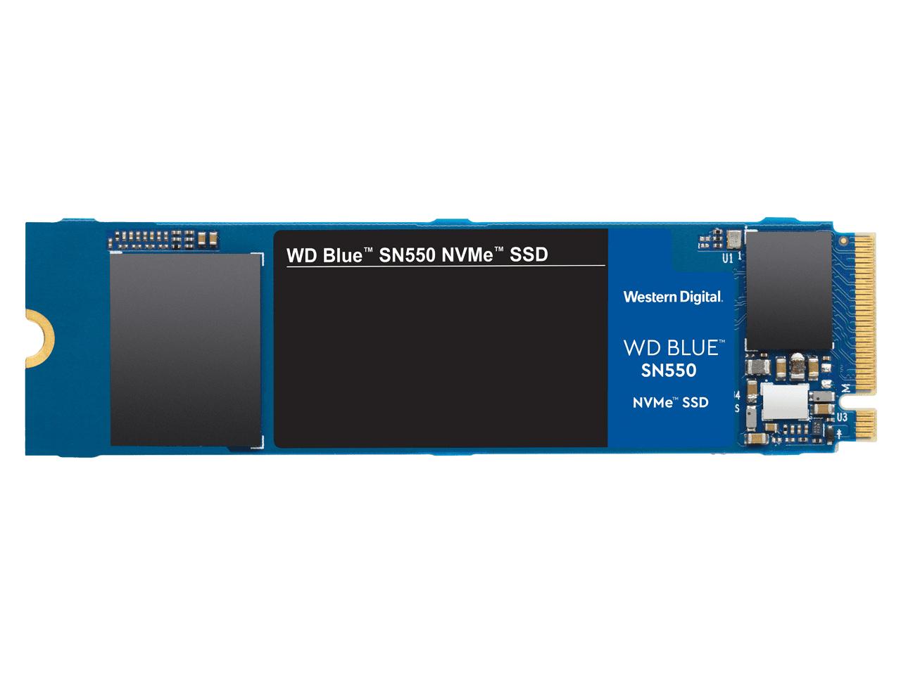 WD Blue SN550 NVMe WDS100T2B0C の製品画像