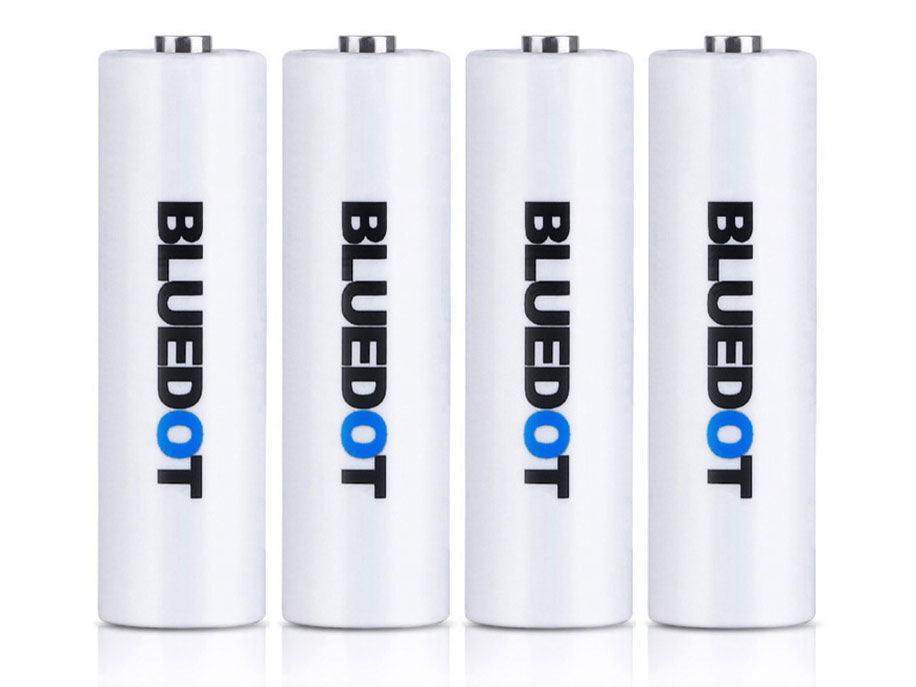 USB充電式リチウムイオン電池 単3形 4本パック BMB-MR3 の製品画像