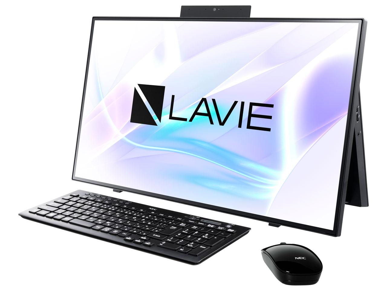 LAVIE Home All-in-one HA700/RAB PC-HA700RAB [ファインブラック]