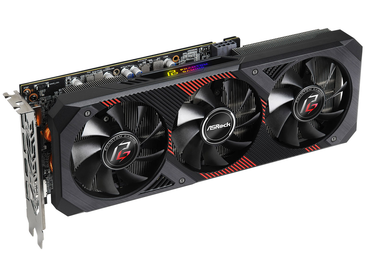 『本体2』 Radeon RX 5600 XT Phantom Gaming D3 6G OC [PCIExp 6GB] の製品画像