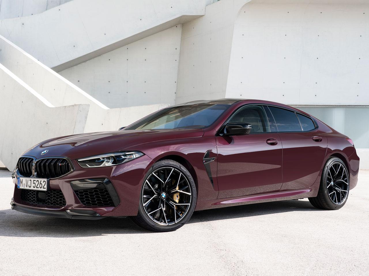BMW M8 グラン クーペ 2020年モデル 新車画像