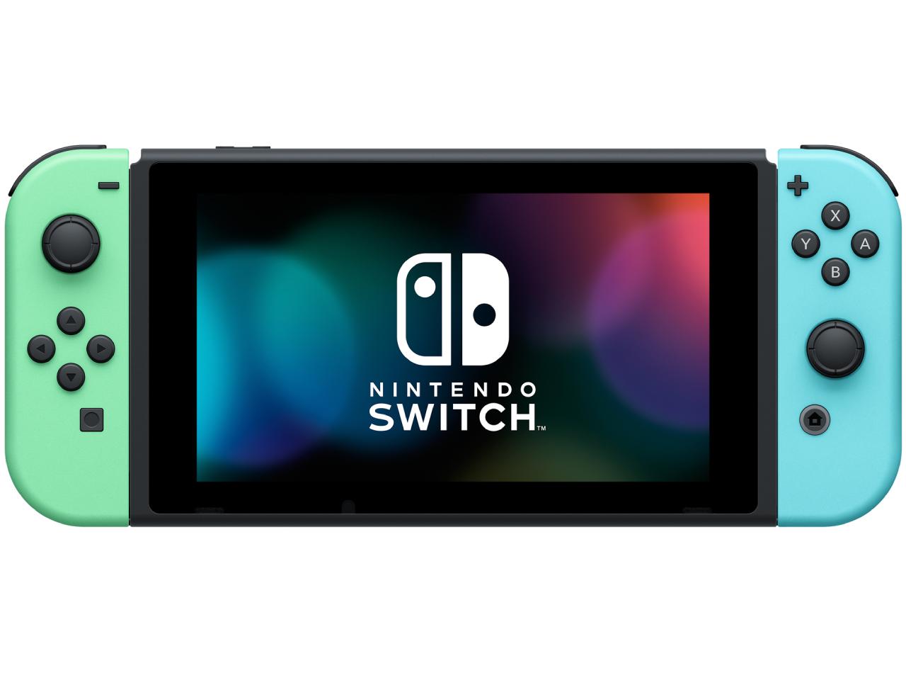 『本体 正面』 Nintendo Switch あつまれ どうぶつの森セット HAD-S-KEAGC の製品画像