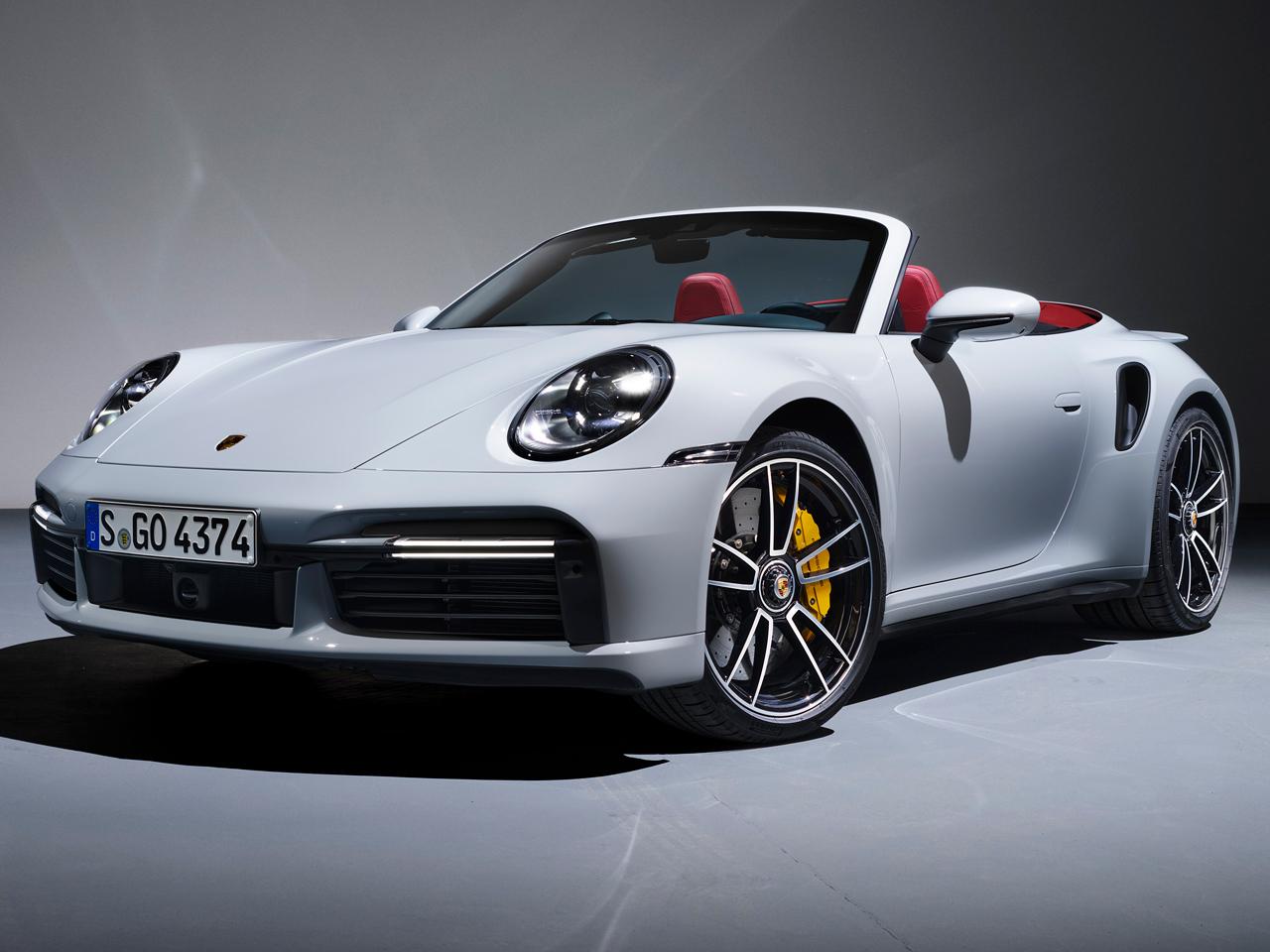 ポルシェ 911ターボ カブリオレ 2020年モデル 新車画像