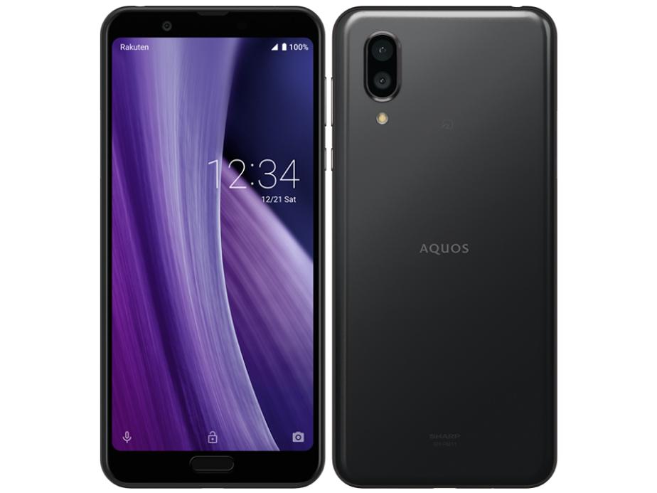 AQUOS sense3 plus 楽天モバイル [ブラック] の製品画像