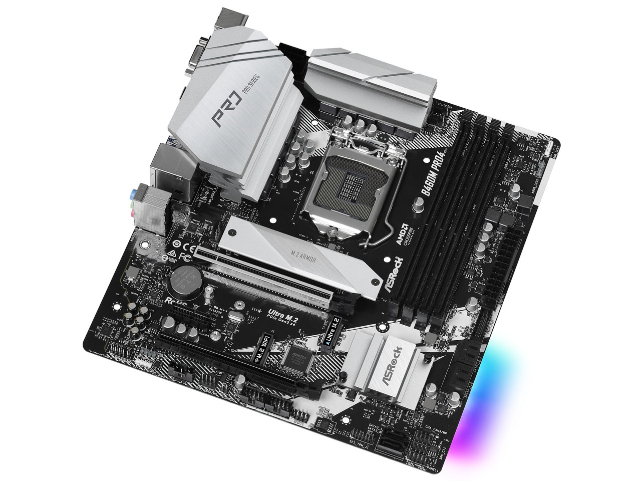 『本体2』 B460M Pro4 の製品画像