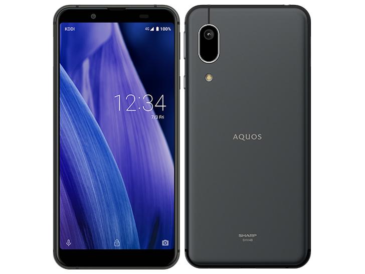 AQUOS sense3 basic SHV48 SIMフリー [ブラック] の製品画像