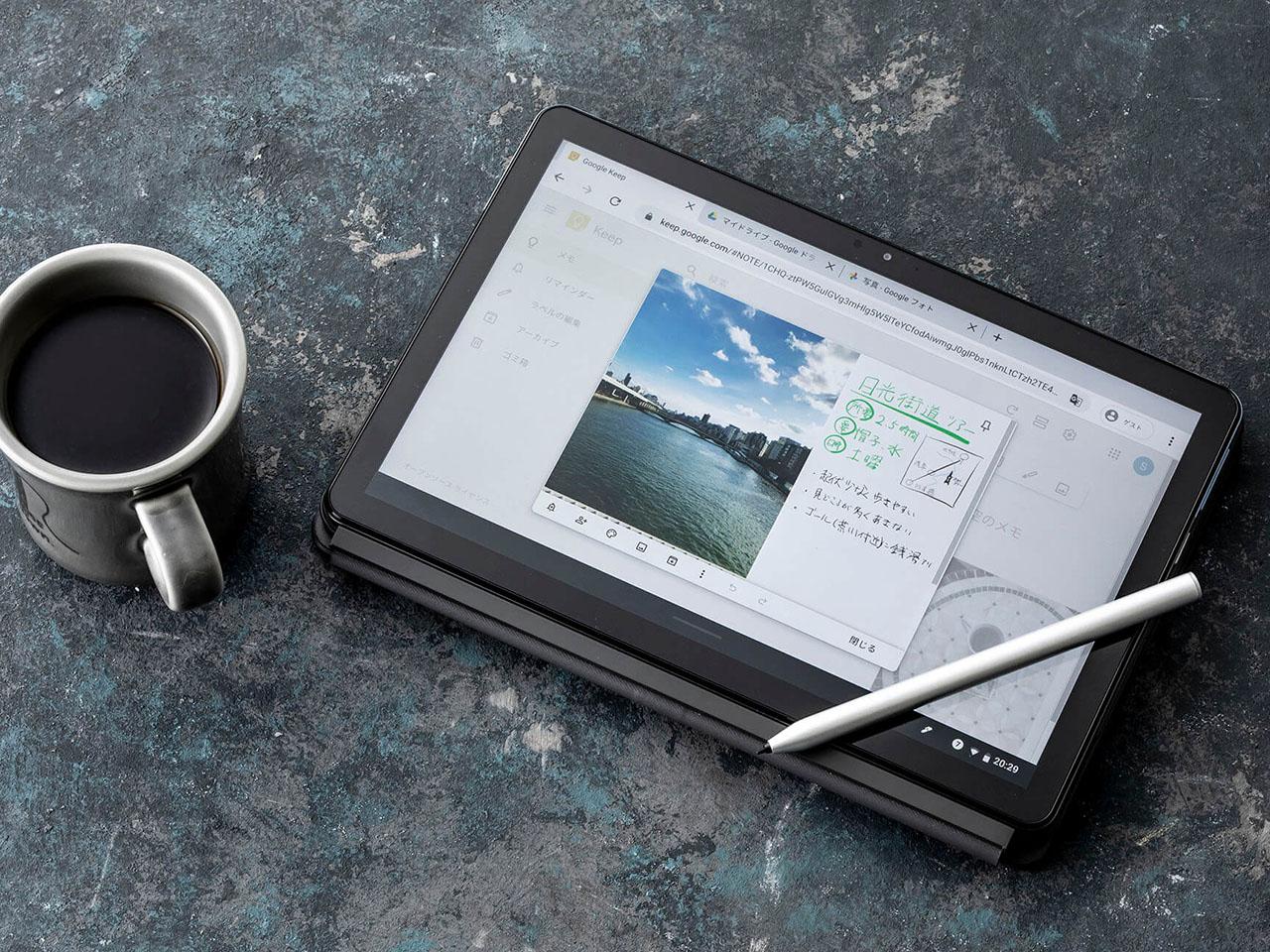 『本体 参考4』 IdeaPad Duet Chromebook ZA6F0038JP の製品画像