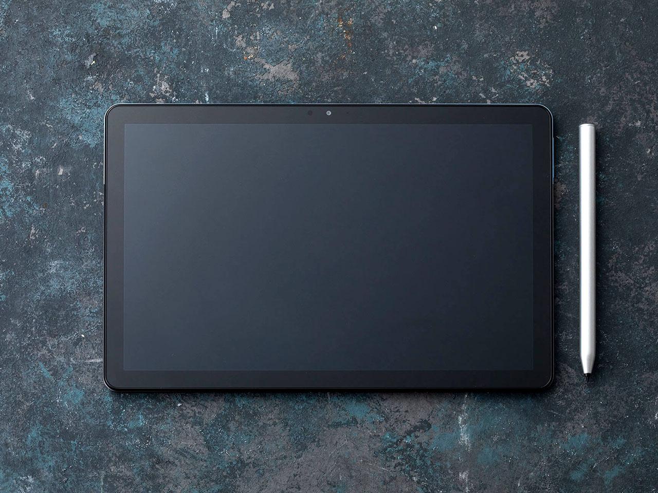 『本体 正面 参考』 IdeaPad Duet Chromebook ZA6F0038JP の製品画像