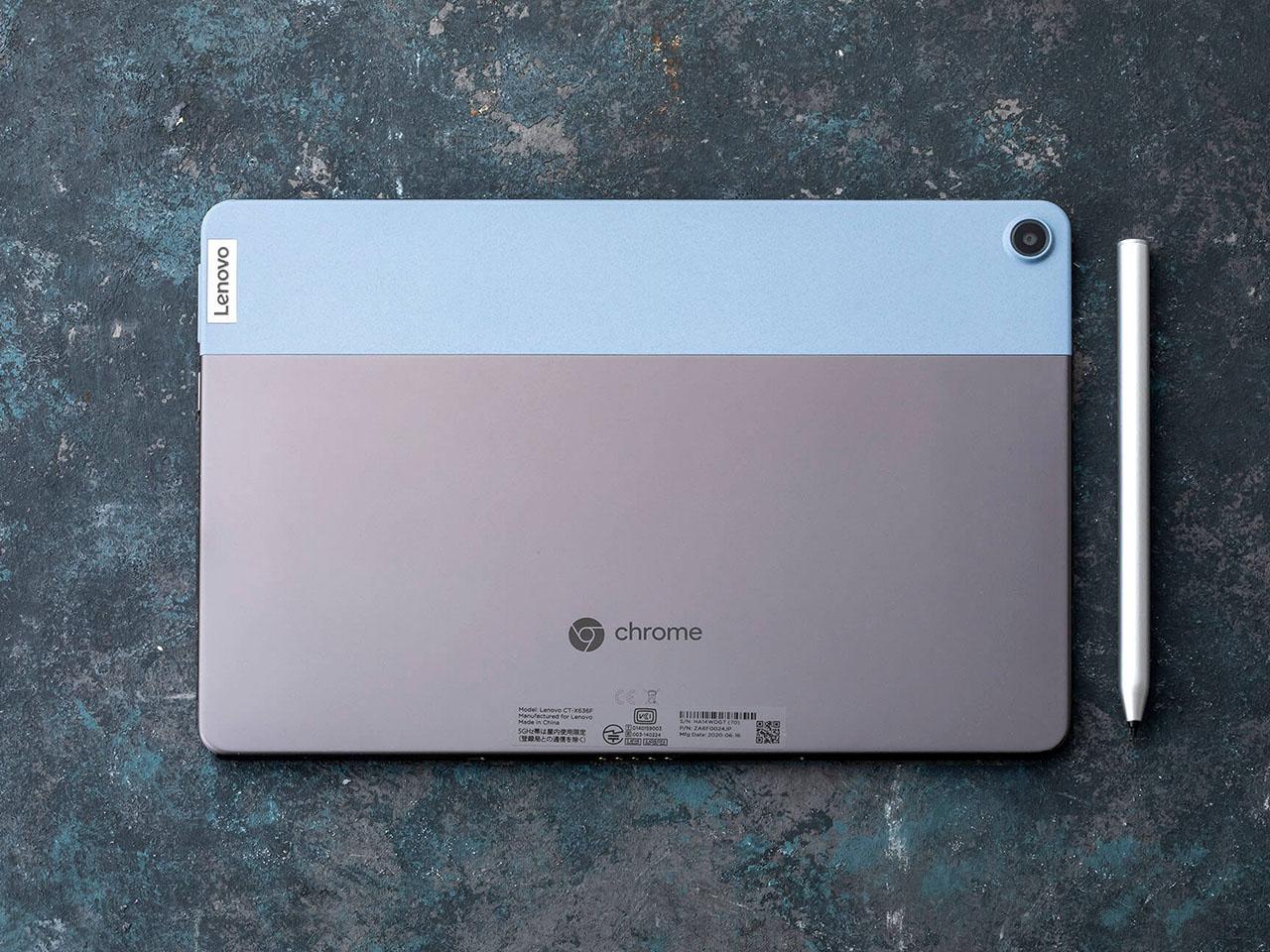 『本体 背面 参考』 IdeaPad Duet Chromebook ZA6F0038JP の製品画像
