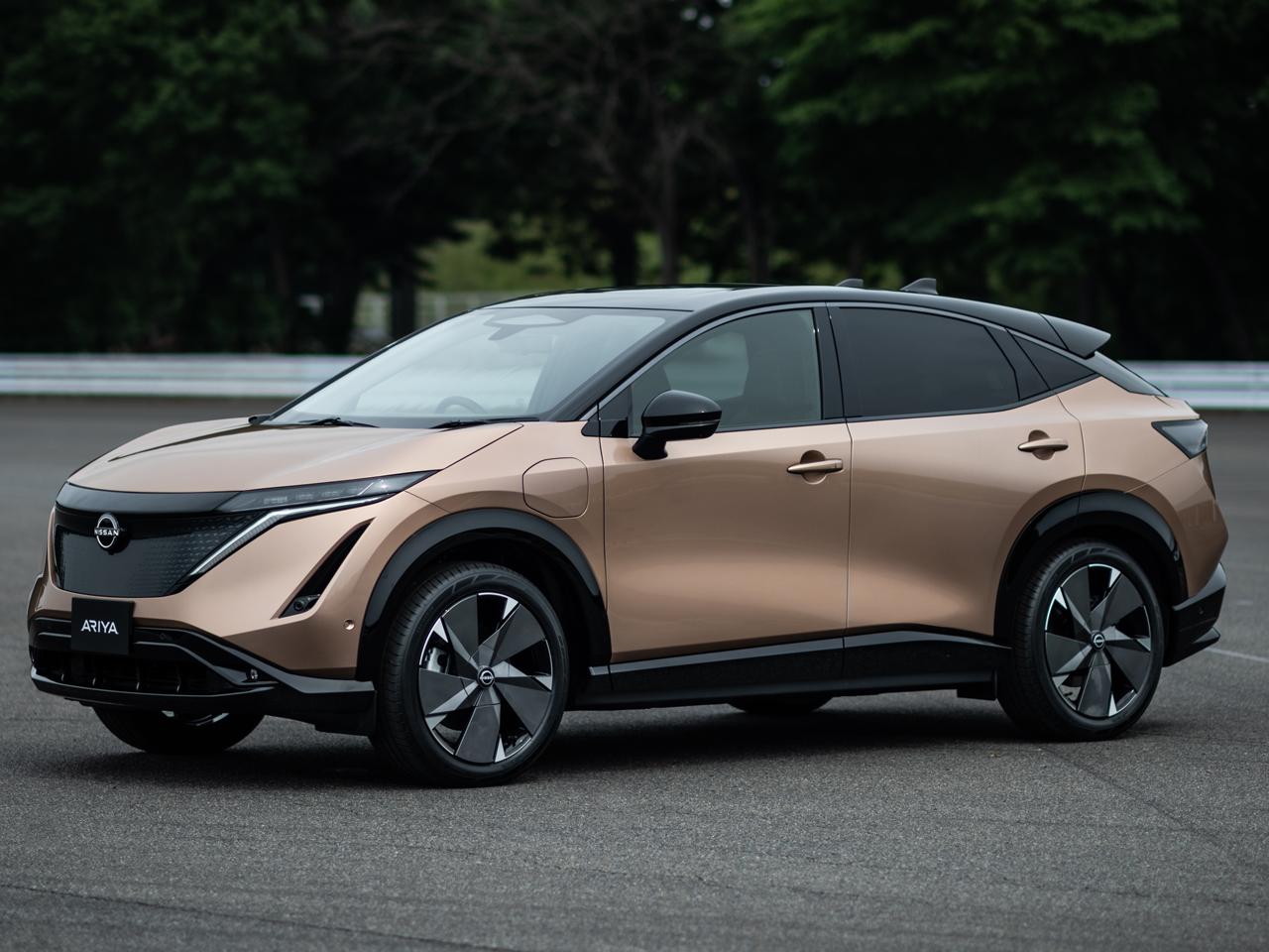 日産 アリア 2021年モデル 新車画像