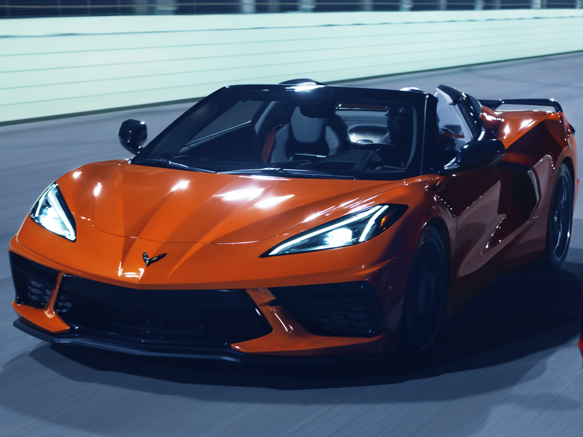 シボレー コルベット コンバーチブル 2020年モデル 新車画像
